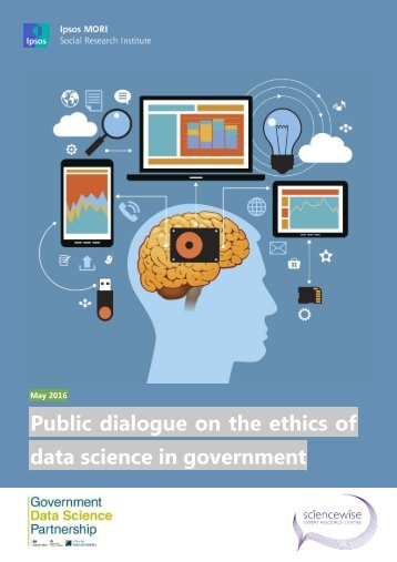 Public dialogue on the ethics of data science in government