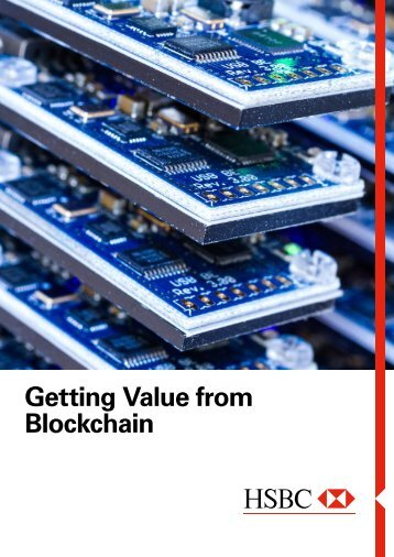Getting Value from Blockchain