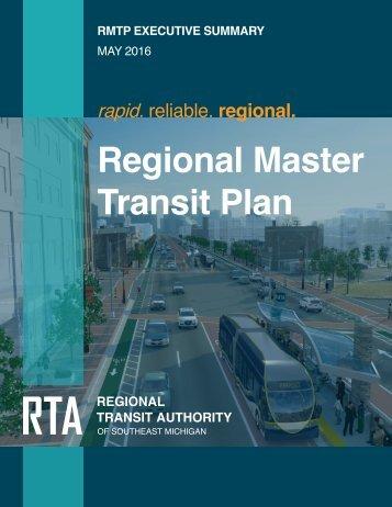 Regional Master Transit Plan