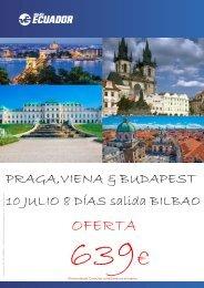 ESCAPARATE PRAGA , VIENA Y BUDAPEST