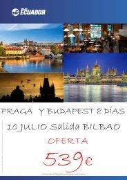 ESCAPARATE PRAGA Y BUDAPEST