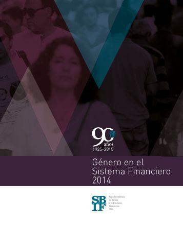 Género en el Sistema Financiero 2014