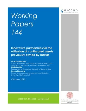 Working Papers 144