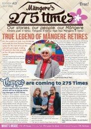 Mangere's 275 Times July 2016