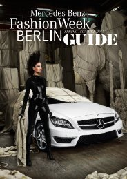 POP - Mercedes-Benz Fashion Week Berlin