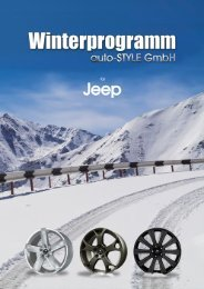Jeep Winter-Programm 2016