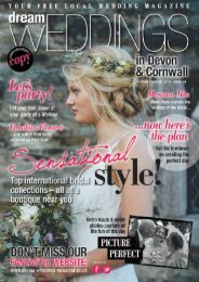 Dream Weddings Magazine - Devon & Cornwall (issue 26)