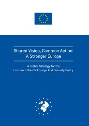 Shared Vision Common Action A Stronger Europe