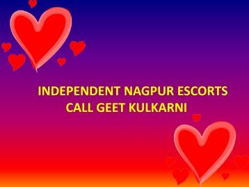Top Nagpur Escorts and Call Girls for Entertainmnet
