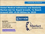 Medical Adhesives and Sealants Market