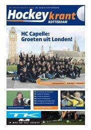 Hockeykrant Rotterdam Voorjaar 2016