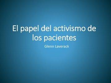 El papel del activismo de los pacientes