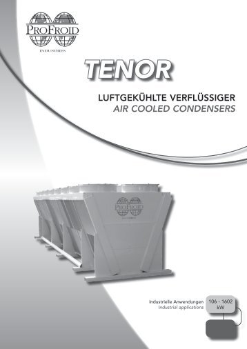 air cooled condensers tenor