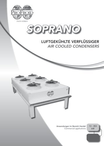 air cooled condensers soprano