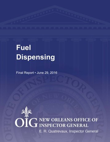 Fuel Dispensing