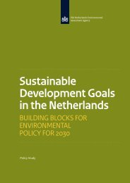 Sustainable Development Goals in the Netherlands