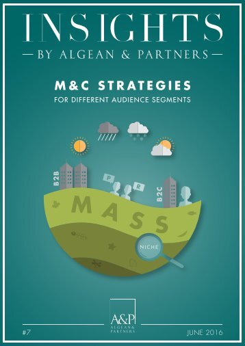 M&C Strategies for different audience segments