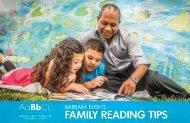 Barbara Bush's Family Reading Tips