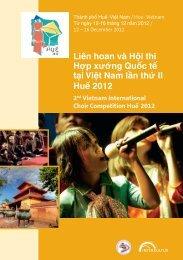 Hue 2012 - Program Book
