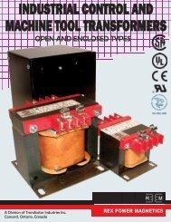 REX_Control_Transformer_Catalogue