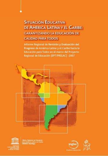 Situación educativa de América Latina y el Caribe - unesdoc - Unesco
