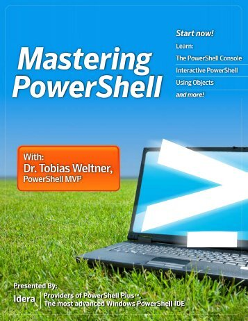 Mastering-PowerShell