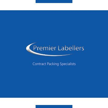 Premier Contract Packing Brochure