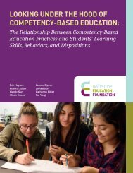LOOKING UNDER THE HOOD OF COMPETENCY-BASED EDUCATION