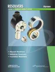 Harowe Resolvers - Ohio Belting and Transmission