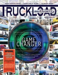 Truckload Authority - Winter/Spring 2015