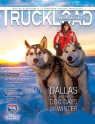 Truckload Authority - Winter 2014/15