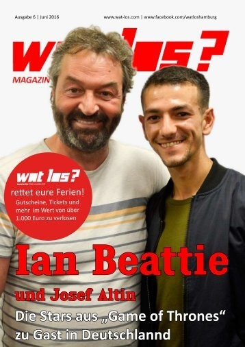 Wat Los? / Ausgabe 6 - 2016