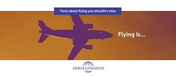 Facts about flying - Germanwatch