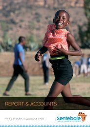 REPORT & ACCOUNTS