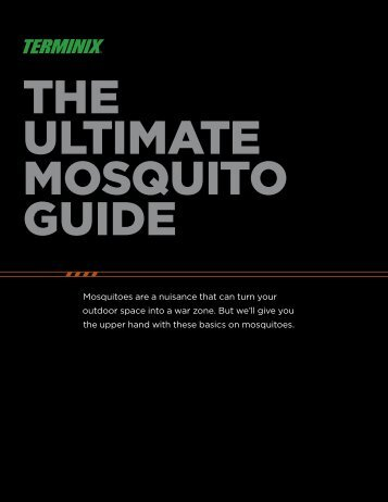 THE ULTIMATE MOSQUITO GUIDE