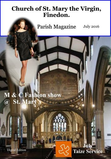 July 2016 Parish Magazine