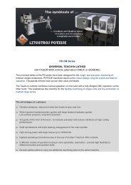 PD CM Series UNIVERSAL TEACH-IN LATHES with FAGOR 8055 ...