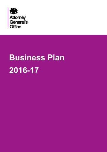 Business Plan 2016-17
