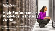 Analytics in the Real World
