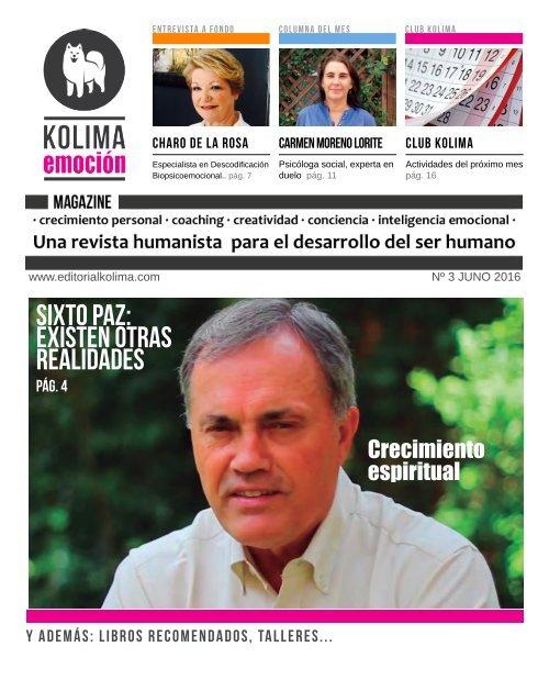 KOLIMA EMOCION Magazine Mes de Junio