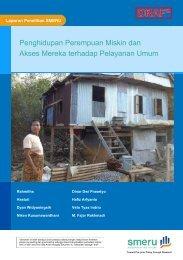 Penghidupan Perempuan Miskin dan Akses Mereka terhadap Pelayanan Umum
