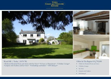 Wynd Hill | Tenby | SA70 7SL Offers In The Region Of £795,000