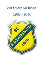 Festzeitschrift 50 Jahre SCE