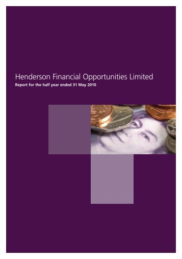 Henderson Financial Opportunities Limited - Henderson Global ...