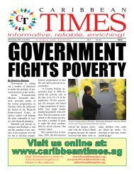Caribbean Times 40th Issue - Wednesday 29th June 2016