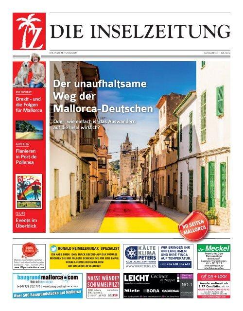 Die Inselzeitung Mallorca Juli 2016