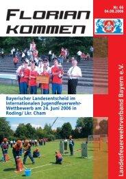 Landesfeuerwehrverband Bayern e.V. - LFV Bayern eV