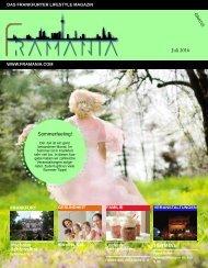 Framania Ausgabe Juli 2016