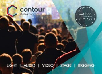 Imagebroschüre | contour Veranstaltungsservice GmbH