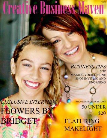 JULY-Creative Business Maven Magazine